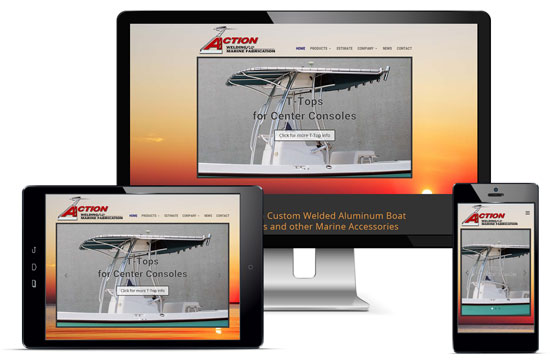 Action Welding Website